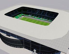 Volkswagen Arena - Wolfsburg 3D asset