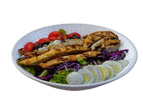 Chicken Cobb Salad 3D model