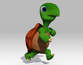 Turtle Toon Animated 3D model
