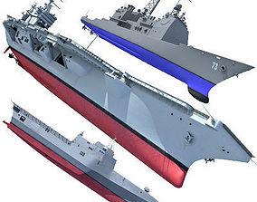 US Navy Ships V4 3D model