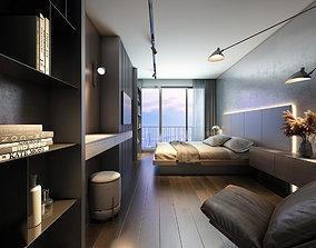 AQuang 2 Bedrooms 3D model
