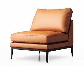 tapered 3D Sabrina armless arm chair by Zuster