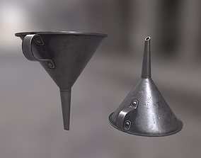 3D model game-ready Funnel
