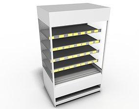 wood 3D Shop shelf
