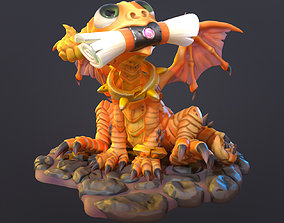 3D model Cute dragon