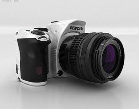 3D Pentax K-30 White