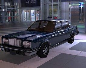 Old Car Replica Concept 3D model