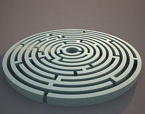 3D Circle Maze