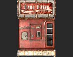 3D model Cold Drink Dispenser Machine