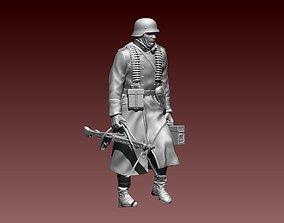 German soldier 3D printable model fascist