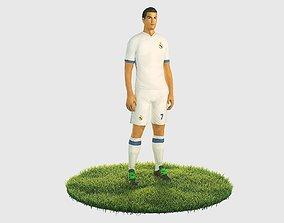 Ronaldo football player 3D model