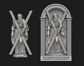 Saint Andrew Relief Set 3D print model