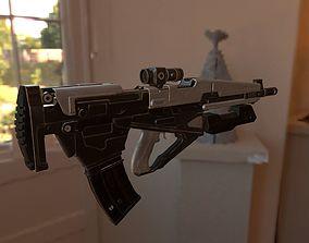 Machine Gun detailed 3D