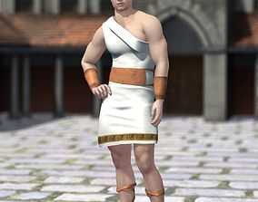 3D Roman Outfit M4 for Poser