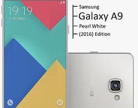 pda 3D Samsung Galaxy A9 2016 Pearl White
