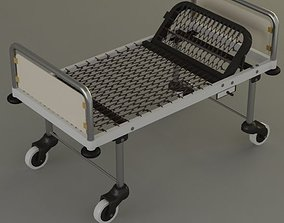 3D steel hospital bed