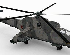 3D model Mil Mi-24A