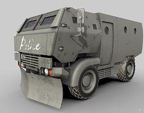 Riot Truck-001 3D model
