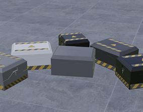 3D Sci Fi Crates V1