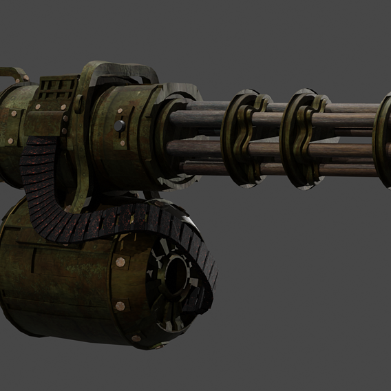 Apocalyptic Minigun