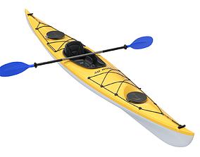 Kayak sports 3D