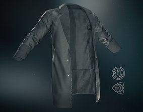 Black Coat 3D asset