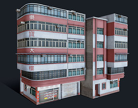 3D model Chinese Building Lok Po