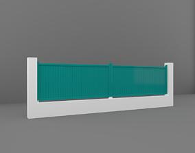 3D asset realtime fence Fence