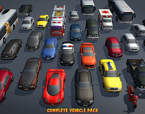 Complete Vehicle Pack V1 3D model