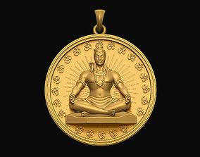 Shiva Pendant 3D printable model
