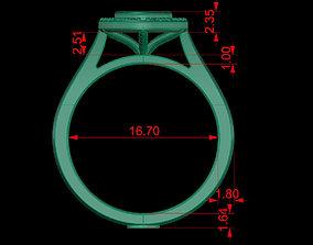 3D print model HALO RING weding