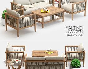 Altinci Cadde Serenity Garden Sofa Set 3D model