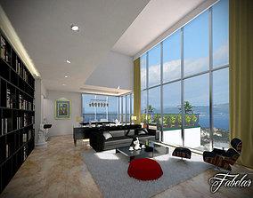 livingroom 3D model Living Room
