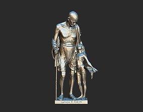 Gandhi by Harish Talim 3DP