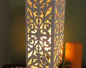 Lamp by laser cutting or 3D