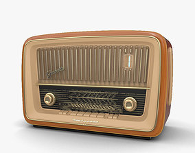 Retro Radio voice 3D model