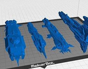 3D print model Eve Online - Caldari Capital Collection