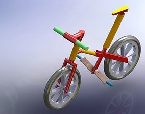 3D model Bicycle children size