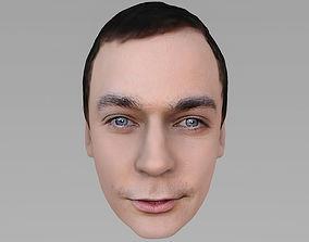 Sheldon Cooper Big Bang Theory Jim Parsons 3D model