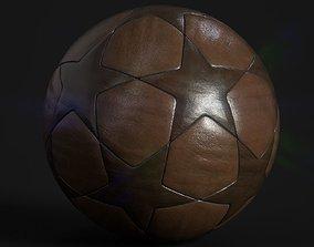 3D asset game-ready Soccer Ball