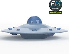 3D Flying saucer 1
