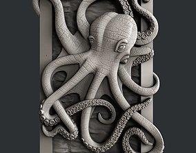 3d STL models for CNC octopus