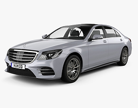 Mercedes-Benz S-class V222 LWB AMG Line 2017 3D model