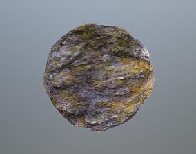 Mossy stone pbr 3D