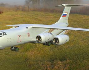 3D asset Aircraft IL-76MD-90A
