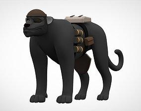 TF2 Demoman Panther 3D asset