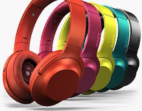 Sony MDR-100AAP headphones 3D model
