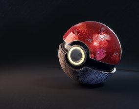 pokeball 3D model Pokeball