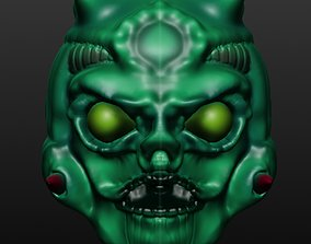 Monster Head 1 accessories 3D printable model