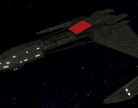 STAR TREK - KLINGON D5 CLASS 3D model